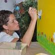 16 LINC member at young professionals build Tiny Libraries September 2014