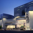 Alley Theatre renovation renderings July 2014 front exterior dusk