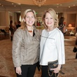Natalie Nicholson-Clark, left, and Glenda Nicholson at the MS Society luncheon March 2015