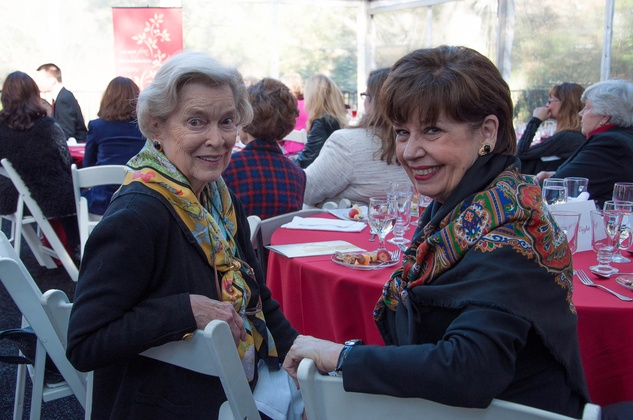 17 Martha Erwin, left, and Tony Wallingford at the ROCO Yuletide Concert at Bayou Bend December 2014
