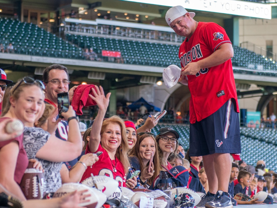 Houston, J.J. Watt Charity Classic, May 2017, Jon Weeks