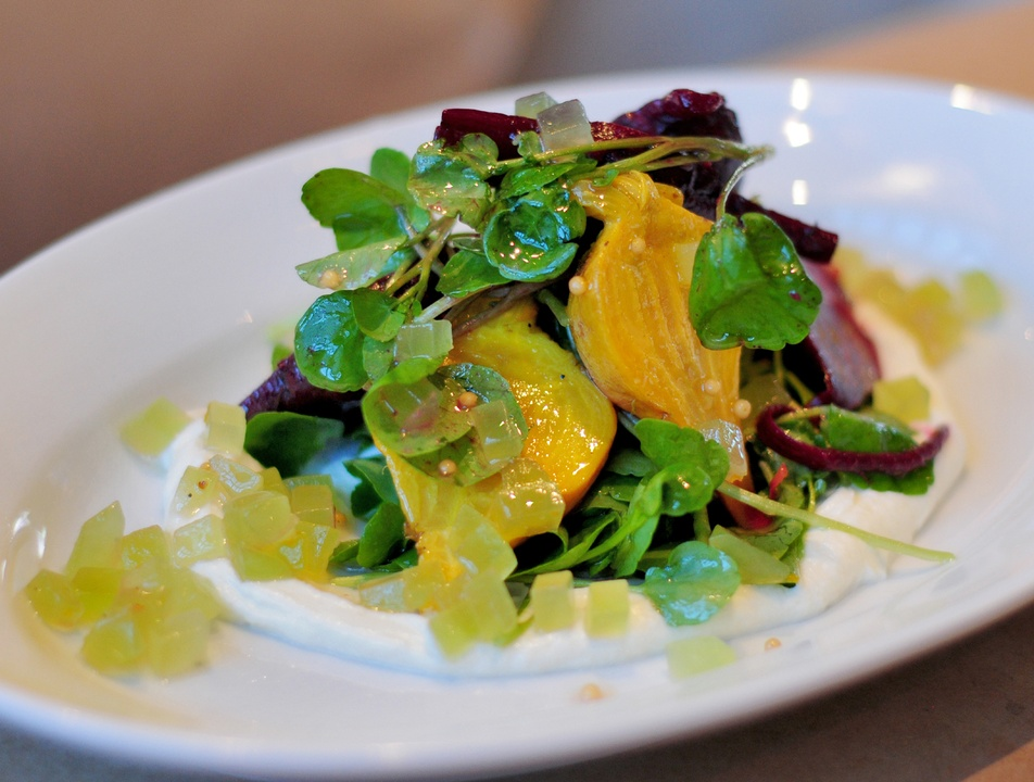 Andrew Bell, Bolsa, beet salad