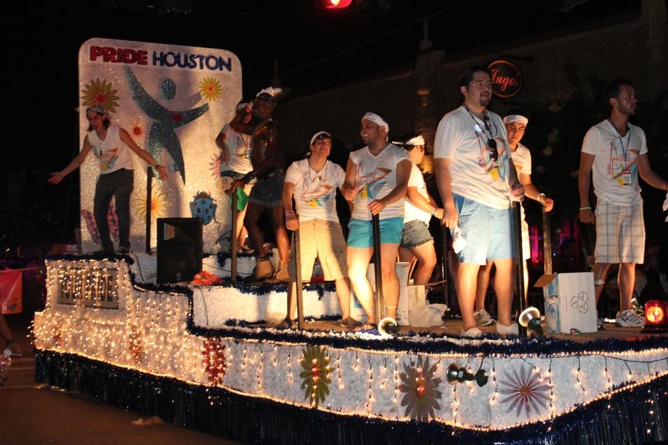 Gay Pride Parade, Pride Houston Float, June 2012