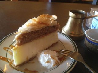 Cafe Pita+ Cheesecake Baklava