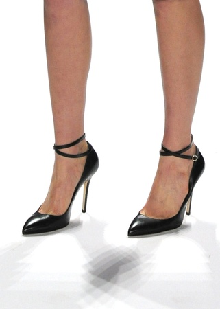 Carmen Marc Valvo, Mara shoe, Mercedes-Benz Fashion Week, February 2013