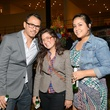 Mario Kazaz, from left, Tere Garcia and Laura De Leon at the Houston Cinema Arts Festival opening night party November 2013
