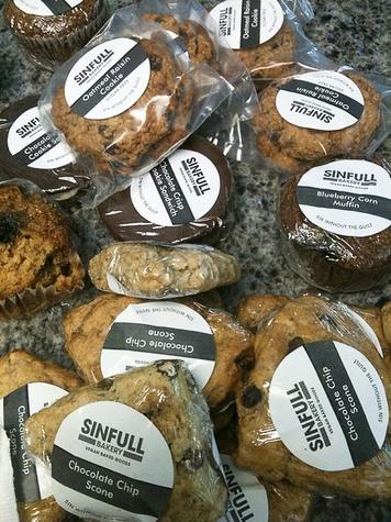 cookies, Sinfull Bakery, oatmeal raisin, scones