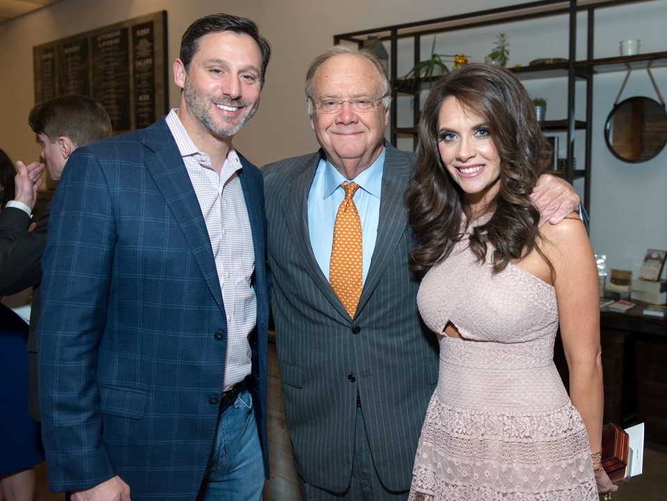 Houston, Game Day Gala, April 2017, Brad Marks, Charlie Hartland, Joanna Marks
