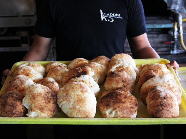 Best of Everything, Aladdin's pita bread, March 2013, Pita bread