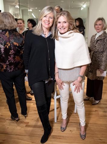 Dallas, LR Art House opening, January 2018, Kristi Hall, Laura Roosevelt