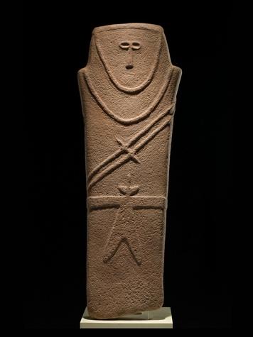 Roads of Arabia Anthropomorphic-stele