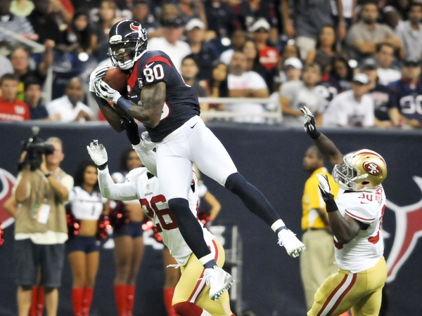 Andre Johnson high catch Texans