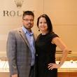 Eduardo and Josie Villalon at the Thomas Markle Jewelers grand opening at Gateway Memorial City December 2014