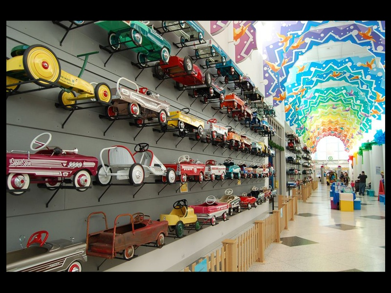 O'Quinn Car Collection Houston http://houston.culturemap.com/news/city_life/11-29-12-longtime-john-oquinn-companion-lends-jaw-dropping-pedal-car-collection-to-childrens-museum/