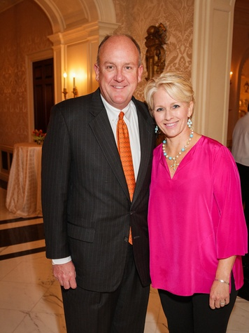 6 Dr. Charles Fraser and Helen Cooley Fraser at the Men of Distinction kick-off party February 2014