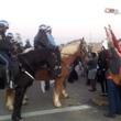 """Houston Ferguson protest November 2014 Houston!""""SHUT IT DOWN FOR MIKE BROWN!"""" Police on horseback vs Protesters"""