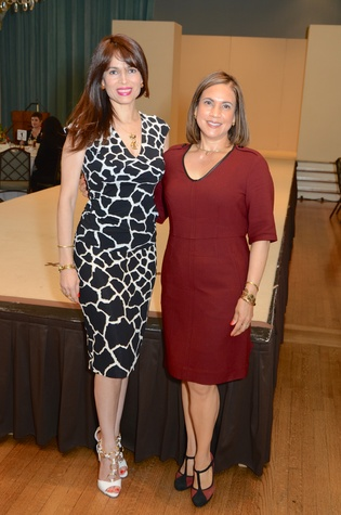 26 Karina Barbieri, left, and Marlyn Greiner at the Latin Women's Initiative Luncheon October 2014