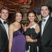 Da Camera Gala 2015 Allison and Benjamin Durig, David and Emily Reeves