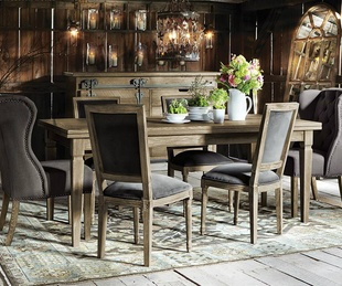 Dining set at Arhaus