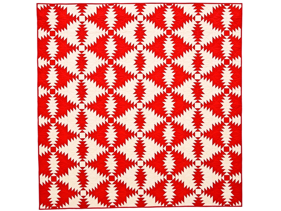 14 Two-Color Pineapple International Quilt Festival special exhibit quilts October 2014