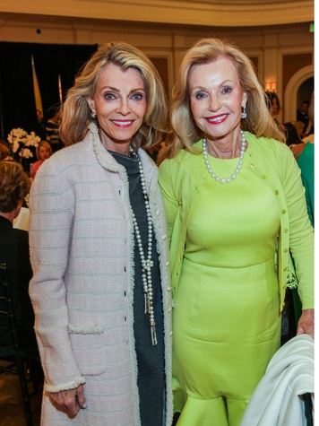 58 Alice Burguieres, left, and Pat Breen at the Salvation Army luncheon April 2014