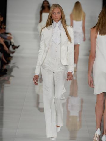 Fashion Week spring summer 2014 Ralph Lauren Collection Spring 2014 Look 45