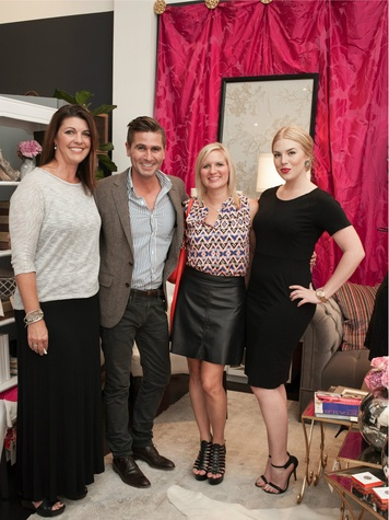 Susan Sutherland, Grant Jackson, Ashlie Dickie, Robin Baniel, Dwell With Dignity grand opening