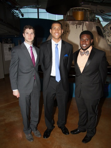 Brad Vogiht, Aaron Williford and Cedric Spain, boys and girls club, tops