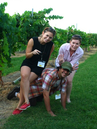 Joel, Messina Hof, Emily, Carey, July 2012