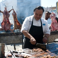 15 Meatopia in San Antonio November 2013 Johnny Hernandez San Antonio chef cabrito