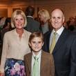Kelli Blanton, from left, Harrison Blanton and Eddy Blanton at the Hospice Spirit Award dinner October 2014