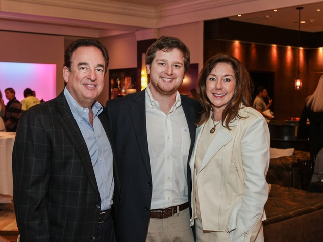 Alan Stein, from left, Jacob Stein and Elizabeth Stein at the Best Friends Brunch February 2014