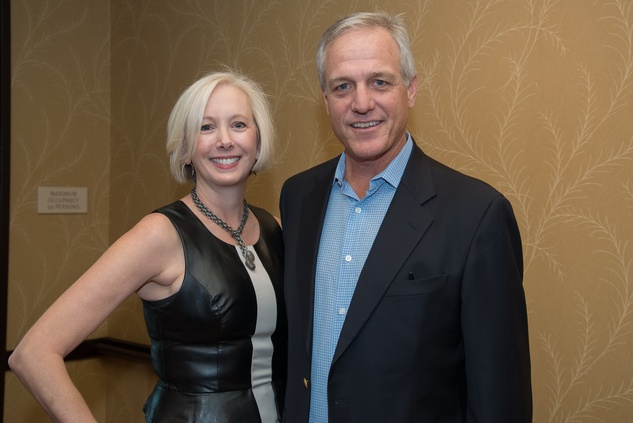 10 Molly Sherman and Rob Arnold at The Council Fall Luncheon November 2014