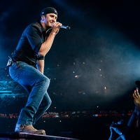 Luke Bryan at Houston Rodeo March 2014