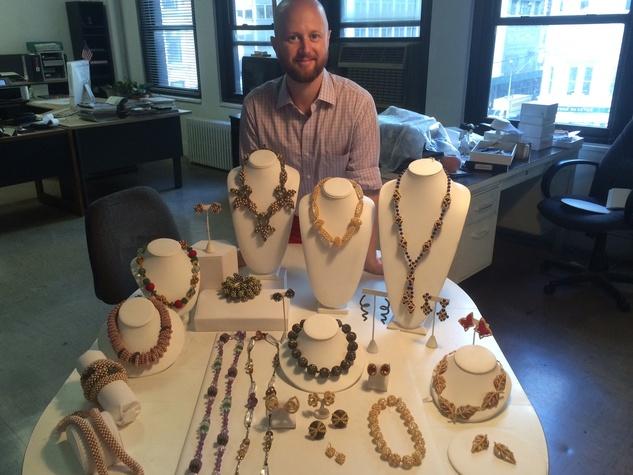 Chris Davies in New York studio