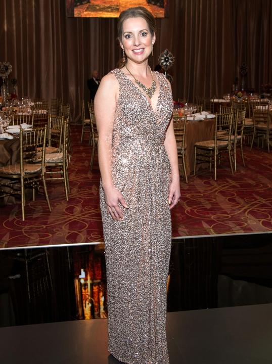 Houston, Ballet Ball gowns, Feb 2017, Jane Cummins in Badgley Mischka