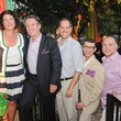 Tracy Vaught, from left, Peter Remington, Jeff Gremillon, Joel Quinones and Brad Brandt at the Q The Salon Moroccan theme party September 2013