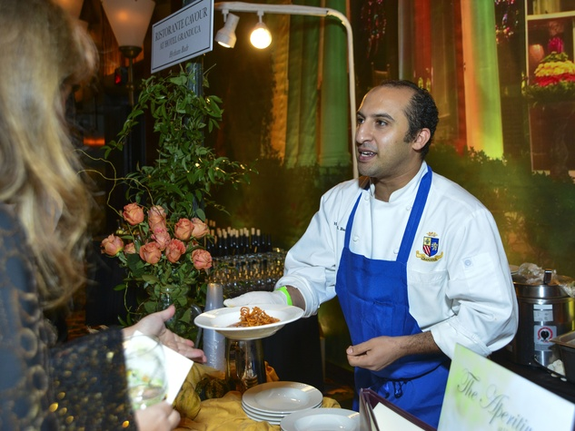 9 Chef Hytham Badr of Ristorante Cavour at the March of Dimes Signature Chefs event October 2013