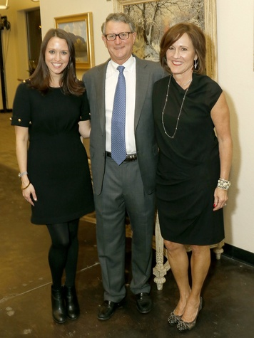 Lauren Shuford, Kathi and Scott Shuford, SVL Patron Party