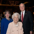 Dorothy Ables, from left, Barbara Bush and Mickey Ables at the Center for Houston's Future luncheon March 2015