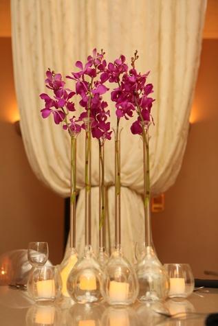 1 Floral arrangement Wortham Center Founder's Salon makeover March 2015
