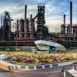 SteelStacks amphitheater in Pennsylvania
