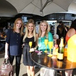 Whitney Morgan, from left, Katherine Whaley and Angie Wicker at Veuve Clicquot at Brasserie 19