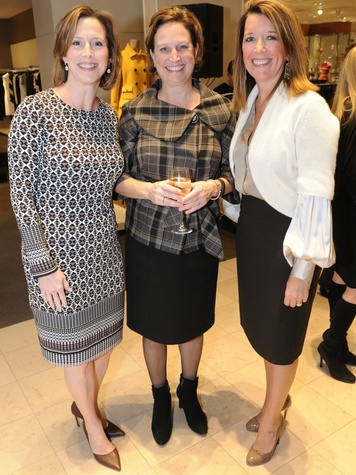 Laura Downing, Donna Epps and Lori Mc Williams, Fall Into Fashion