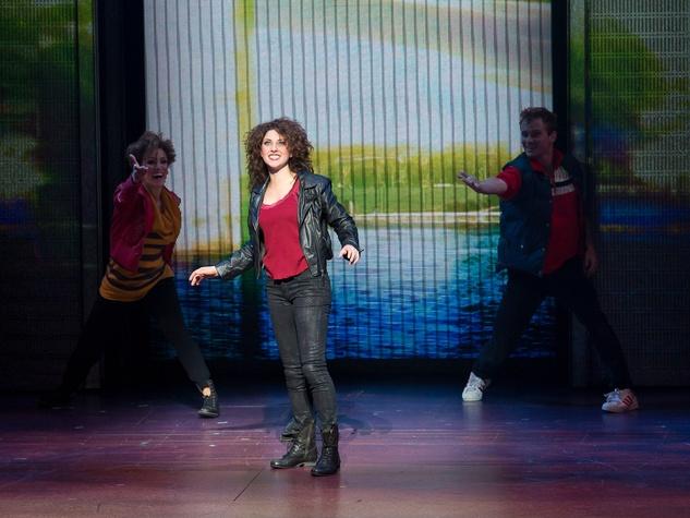 Flashdance The Musical Houston May 2013 Jillian Mueller as Alex