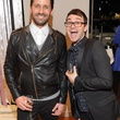 Thomas Bourne, Christian Siriano at Passion for Fashion party at Elizabeth Anthony