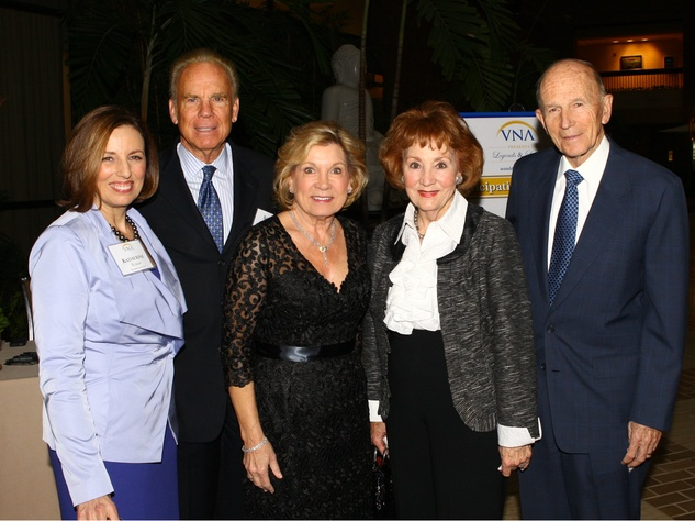 Katherine Krause, Marianne and Roger Staubach, Millie and Ken Cooper, VNA Legends and Leaders
