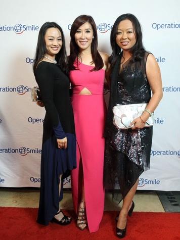 Operation Smile Gala 2015 Bridgette Lee, Mandy Kao and Miya Shay