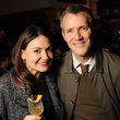 24 Melissa Lujan and John Trahan at the CounterCurrent Kickoff Party March 2015
