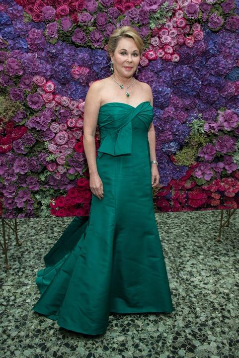 Nancy Kinder in Oscar de la Renta at MFAH Grand Gala Ball 2017
